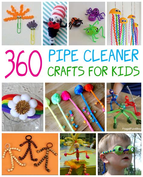 pipe cleaner crafts  kids fun family crafts