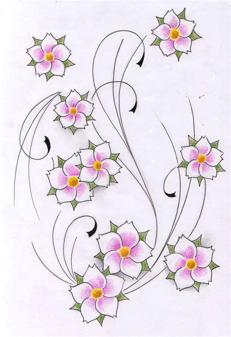 tattoo flower patterns flowers tattoo design new by willemxsm deviantart com on