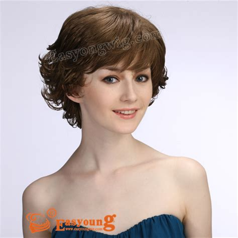 hair changes to wavy in middle age short curly hair wigs for middle age women dscf1355 lady s