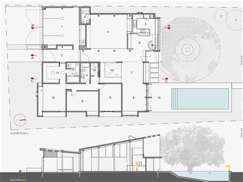 section of plan architecture photography 98275009 floor plan section 11431