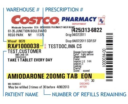 Costco会员费上涨 还值得死忠吗 2 侨报网 Walgreens Prescription Label Template