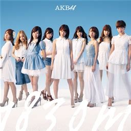 Cd Only Akb48 Kaze Wa Fuiteiru Theater Version melos no michi akb48 album 1830m tracklist covers