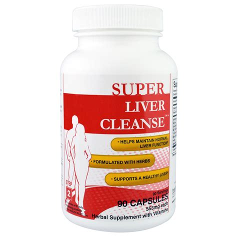 Detox Systems Inc by Health Plus Inc Liver Cleanse Step 2 90 Capsules