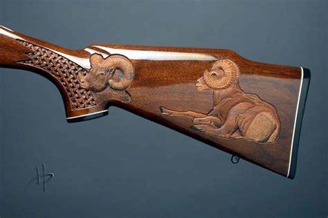 pattern stock gun wildlife carving on gun stocks gun shops or collectors