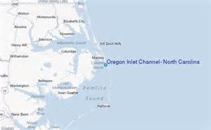 oregon inlet channel carolina tide station location