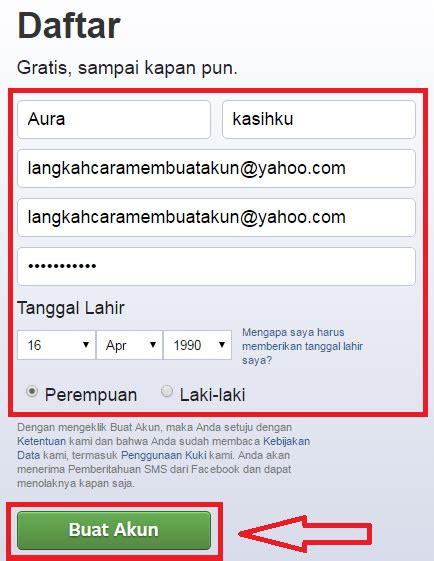 membuat akun facebook lewat yahoo daftar akun facebook baru di yahoo bikin facebook baru