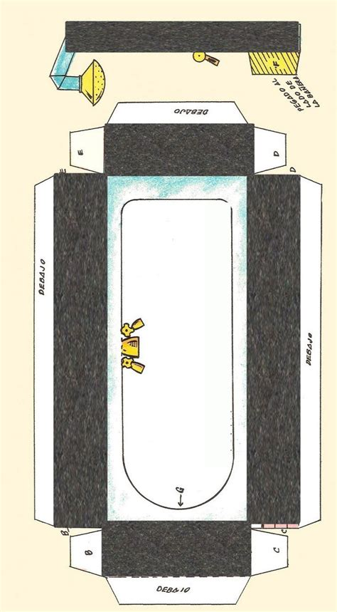 Diy Miniatur Papercraft Gedung Ncpa 10 best images about dolls house printables bathroom on toilets bristol and dollhouses