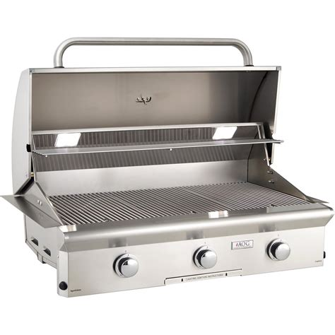 american gas l american outdoor grill l series 36 inch 3 burner built in