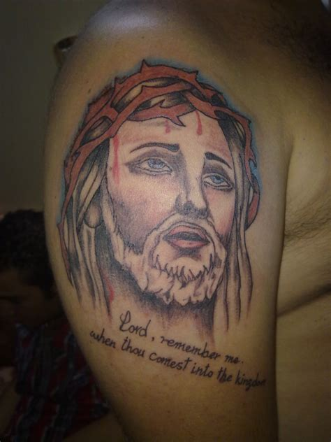 christ tattoo jesus bad tattoos part iv