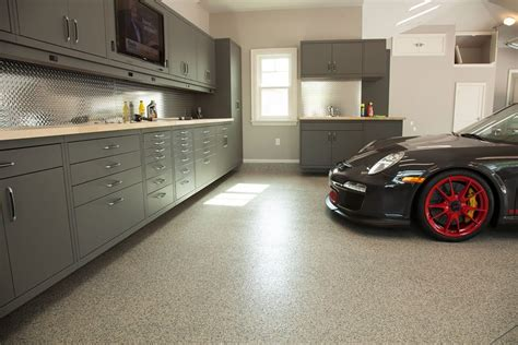 Home Garage Workshop by Garage Flooring Garage Floor Coating