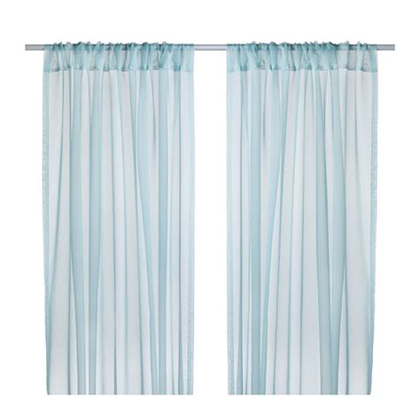 Teresia Sheer Curtains 1 Pair Ikea