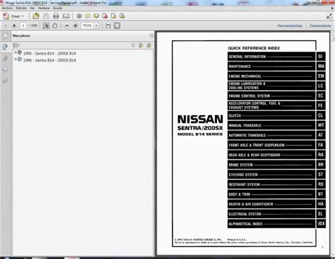 28 nissan sentra b14 repair manual jeffdoedesign