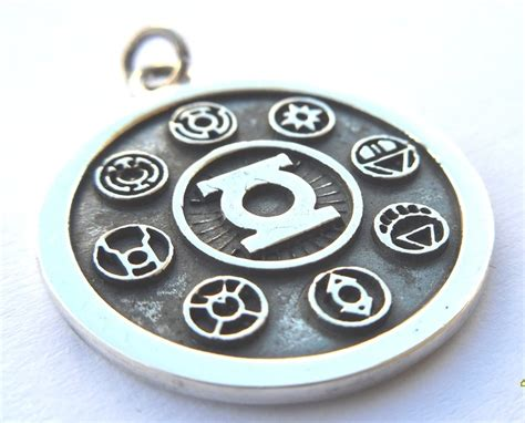 green lantern the silver 1401278027 solid sterling silver 925 green lantern corps by
