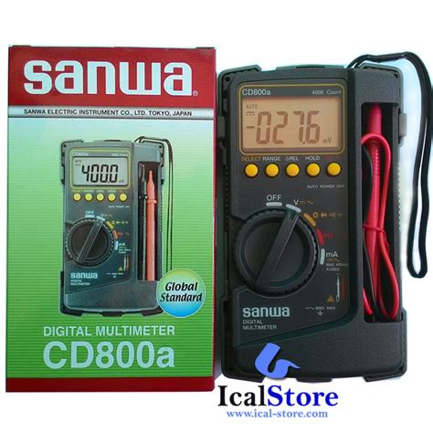 Multitester Digital Sanwa Pm3 multitester multimeter digital sanwa cd800a ical store