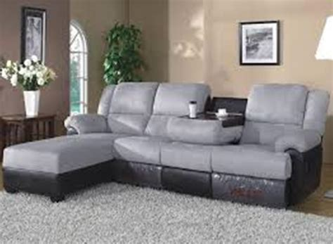 Reclining Sofa Chaise Couch With Chaise And Recliner