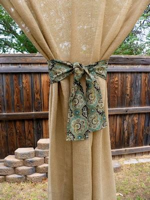 burlap outdoor curtains 1000 ideas about shear curtains on pinterest homemade