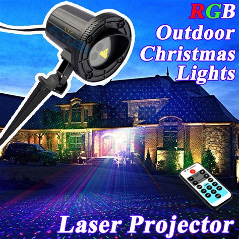 whole sale 2016 rgb lights outdoor shower laser