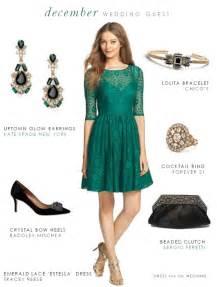 green dress for a december wedding guest