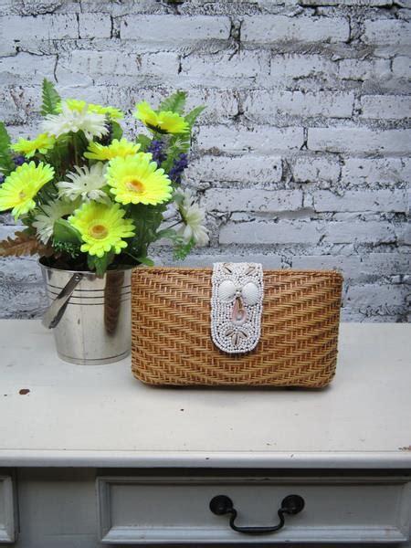 Tas Rotan Putih handicraft cantik terbaru