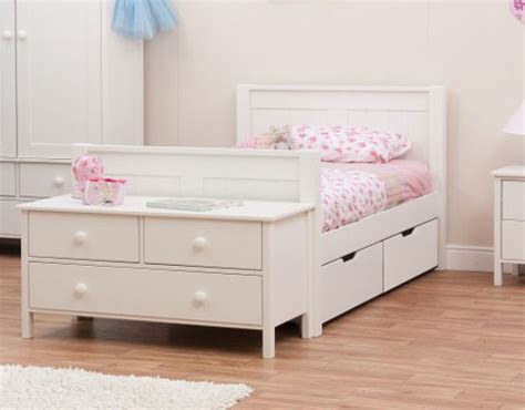 beds for women classic kids single bed white