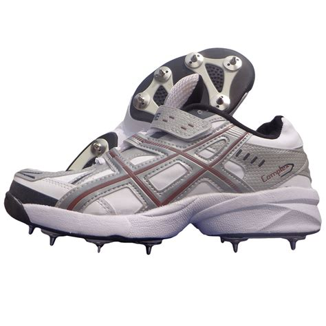 spike shoes for pro ase stud spike cricket shoes white and gray buy