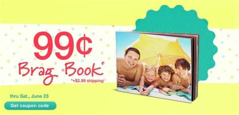 walgreens picture book walgreens 99 162 brag book enter coupon code 99brag at