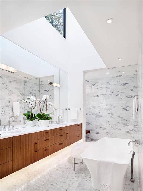 high ceiling bathroom alterstudio bunny run residence home designator