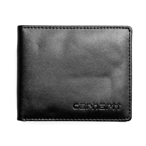 Carhartt Wip Gift Card - carhartt card wallet in black leather