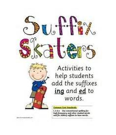 rule adding suffixes ed and ing changes the tense of a verb 1000 images about grammar ed ing on pinterest
