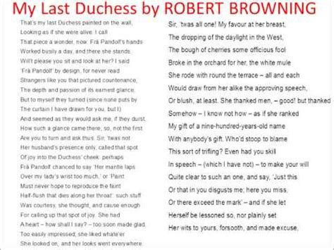 My Last Duchess Essay by My Last Duchess Rap Inspired The Poem By Robert Browning