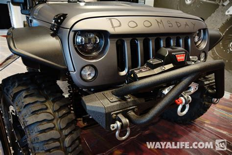 Jeep Project 2013 Sema Project Doomsday Jeep Jk Wrangler 4 Door