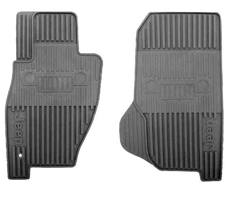 2002 Jeep Liberty Floor Mats by All Things Jeep Front Slush Mats For Jeep Liberty 2002
