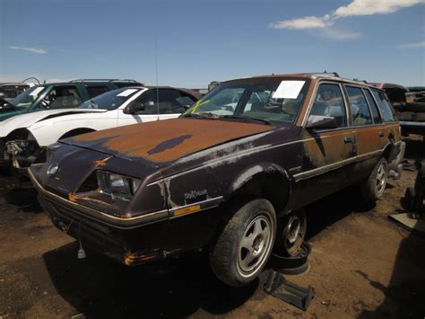 1985 buick skyhawk for sale junkyard find 1985 buick skyhawk wagon the about cars