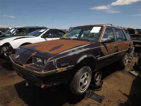 junkyard find 1985 buick skyhawk wagon the about cars