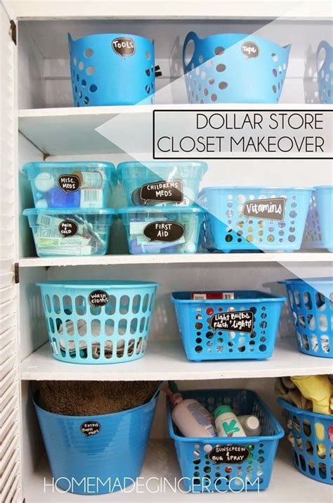 Spring Cleaning Hacks by Best 25 Dollar Store Organization Ideas On Pinterest