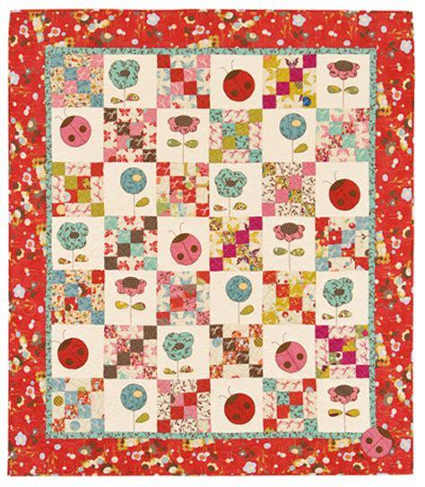Ladybug Quilt Patterns by Martingale Ladybugs Quilt Epattern