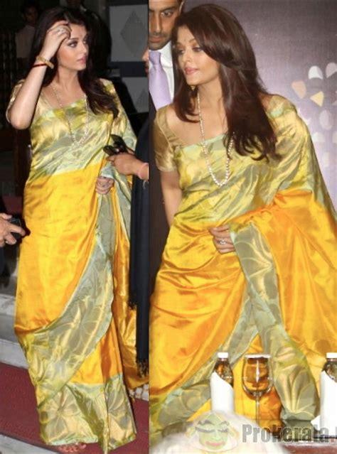 aishwarya rai saree yellow top indian fashion and lifestyle blog sunshine yellow sari