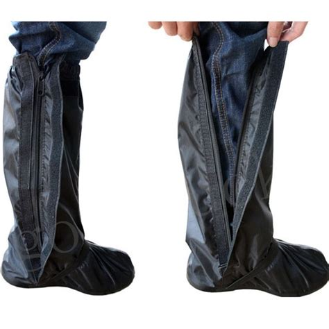 boat shoes in rain motorcycle motorbike waterproof rain boot shoe covers