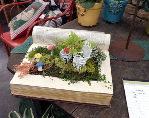 pinterest party workshop altered fairy garden books garden supply co