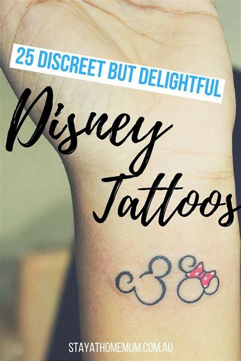 best 25 discrete tattoo ideas disney cooltop disney 25 discreet but