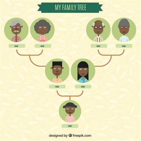 Family Tree Template Vector Gratis Download Vector Image Template Family Tree