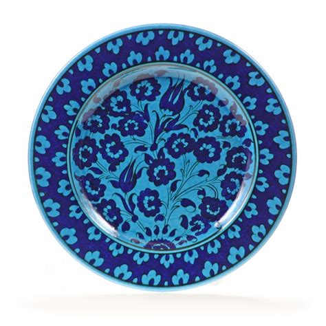 Turquoise Decorative Plates by 10 Quot Turkish Turquoise Quot Masterwork Quot Decorative Plate
