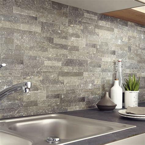 carrelage mur cuisine carrelage mur grafite muretto l 30 x l 60 4 cm leroy merlin