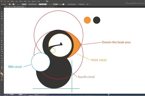 pattern drafting using adobe illustrator how to create a cool and simple puffin logo using adobe