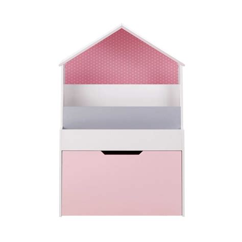 regal hausform b 252 cherregal in hausform rosa lea maisons du monde