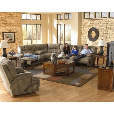 power reclining sectional sofa voyager power reclining sectional sofa by catnapper