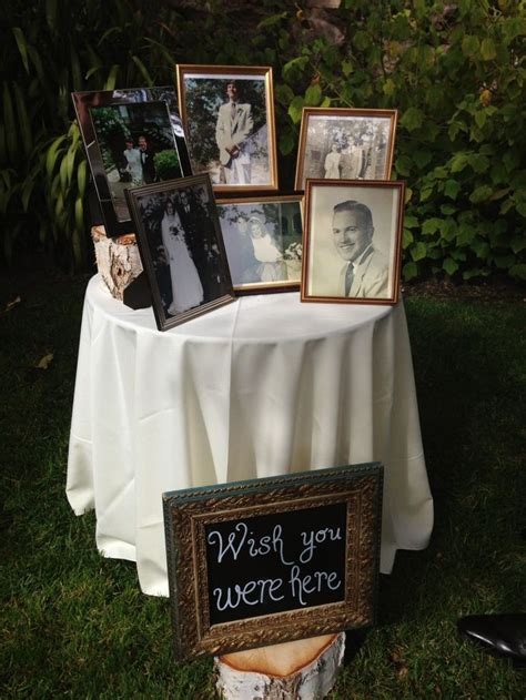 No At Your Wedding Our One 4 by Best 25 Wedding Memory Table Ideas On Wedding