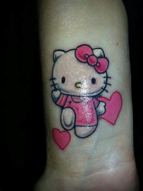 hello kitty couple tattoos 10 best images about hello on