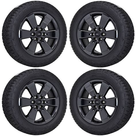 ebay wheels 20 quot ford f150 fx4 truck black chrome wheels rims tires