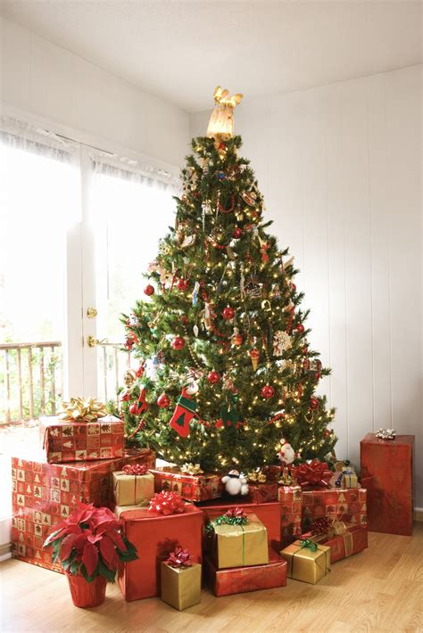 how to hang a christmas tree from the ceiling ehow